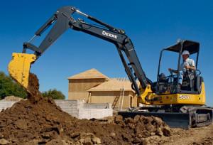 John Deere Mini-Excavator